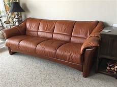 stressless ekornes oslo 4 seat leather sofa city