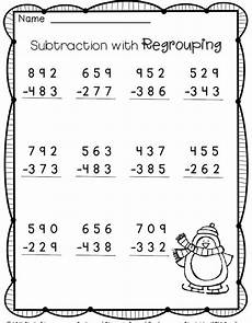 3rd grade math sheets subtraction 3 digit subtraction free 2nd grade math 2nd grade