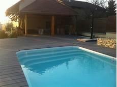piscine modeles et prix r 233 alisation d une piscine coque polyester d environ 8x4