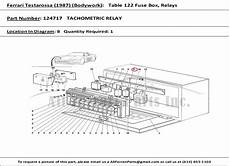 part number 124717 tachometric relay