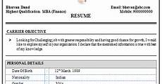 over 10000 cv and resume sles with free download mba finance resume sle for experience