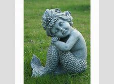 Hi Line Gift Ltd. Mermaid Sitting Statue & Reviews   Wayfair