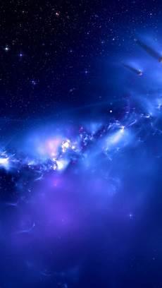 blue galaxy iphone wallpaper blue galaxy distant planets wallpaper free iphone wallpapers