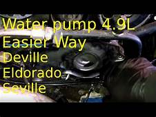 Water Pump Replacement 1993 Cadillac Deville 49L How To