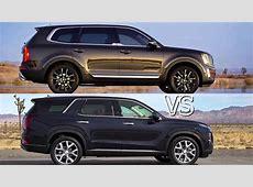 2020 Kia Telluride vs 2020 Hyundai Palisade   YouTube