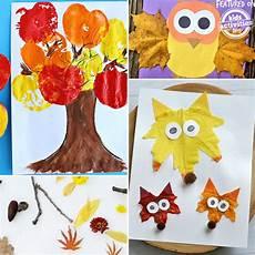24 Preschool Fall Crafts