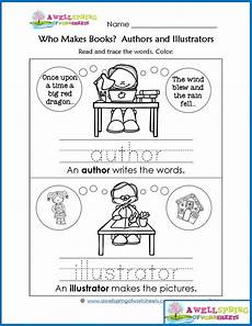 worksheets by subject concepts of print kindergarten library parts of a book kindergarten