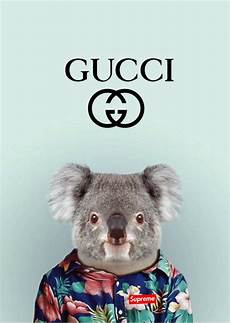 Gucci Supreme Wallpaper