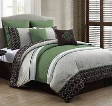 Size Bedroom Comforter Sets by New Luxurious King Size Bed In A Bag 8 Comforter Set