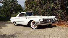 1960 buick lesabre convertible in white paint engine
