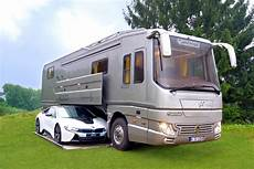 Mobile Garage Rv by Bespoke Rv Hides Sports Car In Mobile Garage Curbed