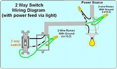 2 way light switch wiring diagram how to wire 2 way electrical circuit when you are looking