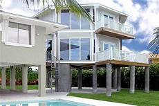stilt house plans florida florida keys two story stilt home topsider build over