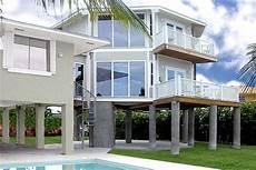 stilt house plans florida florida keys two story stilt home topsider build over