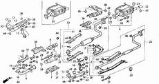 92 civic engine diagram anyone a diagram of the 92 95 hatch stock exhaust clubcivic your civic