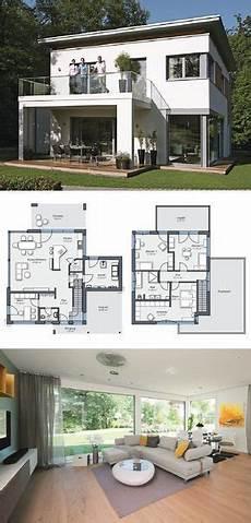 einfamilienhaus passivhaus wahrt einfamilienhaus architektur modern mit flachdach und
