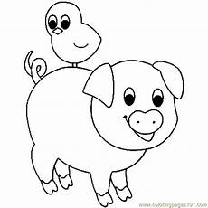 pig coloring page free pig coloring pages