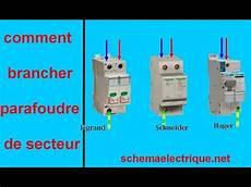 Montage D Un Parafoudre Sch 233 Ma Branchement C 226 Blage Parafoudre Electrique De