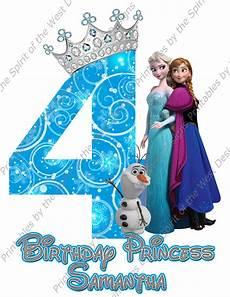 malvorlagen frozen happy birthday custom fourth birthday frozen image use as iron on clip
