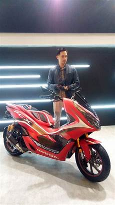 Modifikasi Stiker Pcx 2018 by Ragam Modifikasi Honda Pcx 150 Indonesia Tahun 2018 6