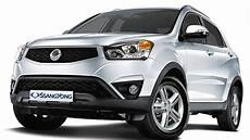 2017 Ssangyong Korando Facelift Revealed