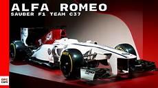 Alfa Romeo Sauber F1 Team C37 Race Car