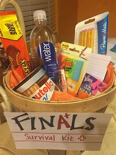 Kitchen Gifts For Students by Finals Survival Kit Diy Survival Kit Gifts College