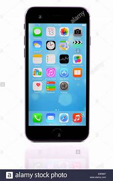 White Background Iphone by Apple Iphone 6 On White Background Stock Photo Royalty