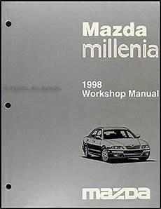 book repair manual 2001 mazda millenia engine control 1998 mazda millenia repair shop manual original