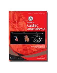annals of cardiac anaesthesia table of contents