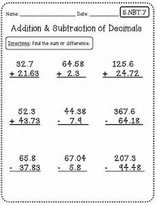 5th grade math worksheet subtraction common worksheets 5th grade edition create teach