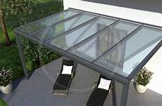 Plexiglas Kaufen Günstig - rexopremium titan alu terrassendach 5m x 3m mit
