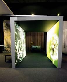 custom led graphic light wall fabrication lightbox creative design tradeshow signs led