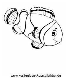 ausmalbild fisch 2 zum ausdrucken