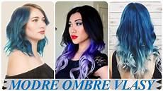 nehty modre ombre top modre ombre vlasy