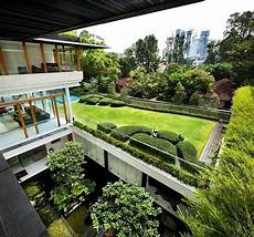 modern glass house open landscaping decorations rooftop lawn house with glass walls modern house