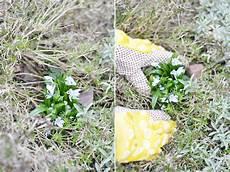 le aus baumstamm g 228 rtnern einen baumstamm mit blumen bepflanzen bonny und kleid