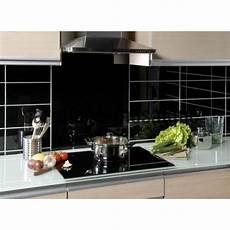 credence carrelage noir credence cuisine verre laque carrelage 60 x 60 cm noir