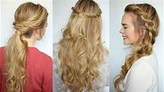 3 easy twisted hairstyles sue youtube
