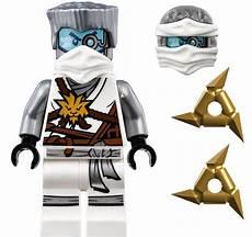 lego ninjago zane titanium from 70588 minifigure