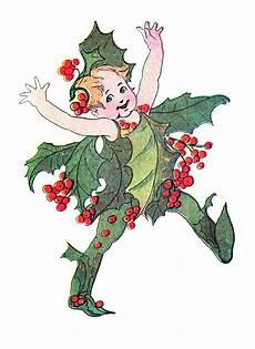 free vintage clip flower fairies the