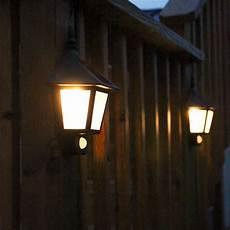 lights com solar lights solar wall olwyn solar wall light with motion detection of 2