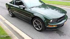 sneak peak 09 ford bullitt mustang for sale with test