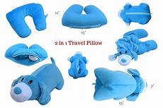 2 in 1 neck support travel pillow