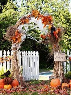 throw an enchanted forest halloween party fall harvest party harvest party halloween decorations
