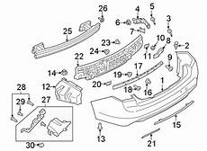 auto body repair training 1986 lincoln continental parking system lincoln continental bumper cover support rail rear components center body gd9z17754a