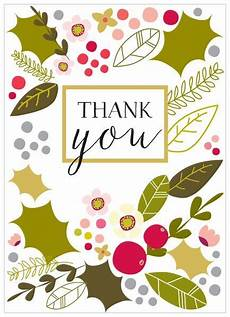 christmas thank you cards from karenza paperie collection karenza paperie