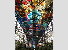 Splendid Botanical Gardens Full of Stained Glass Murals