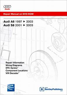 car repair manuals online free 2004 audi a8 electronic valve timing audi a8 s8 repair manual on dvd rom 1997 2003 xxxad25