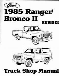 electric and cars manual 1985 ford f series parental controls 1985 ford ranger bronco ii shop service repair manual engine drivetrain book oem ebay